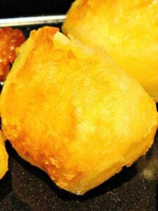 Super Crispy Crunchy Roast Potatoes. Crispy on the outside and fluffy inside!