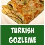 How to make Gozleme Turkish bread,Turkish pancake - Great filling suggestions in the recipe for you too! | Lovefoodies.com