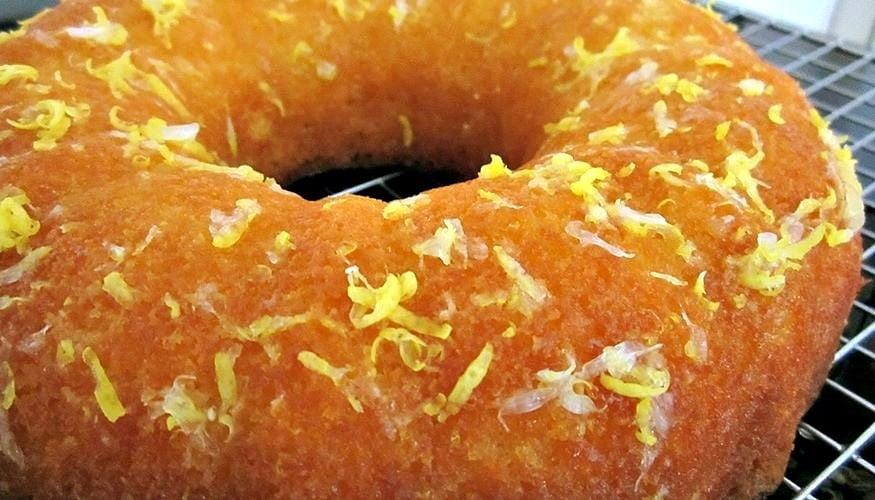 Moist Lemon or Orange Pound Loaf Cake