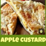 Light and Crispy Apple and Custard Strudel