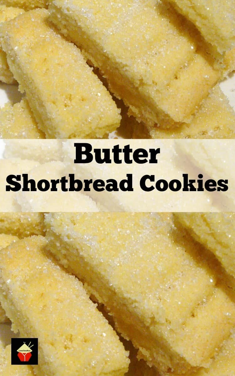 Butter Shortbread | Lovefoodies