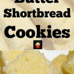 Butter Shortbread simply a delight to eat! The dough is so easy to make and uses simple ingredients. These are a traditional cookie and melt in your mouth! | Lovefoodies.com