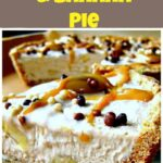 Caramel, Pecan Butter and Banana Pie. A delicious creamy pie for you all to enjoy!