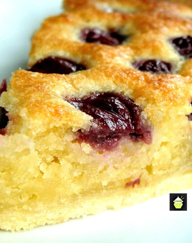 Cherry Frangipane A wonderful moist cake perfect with a cup of tea!