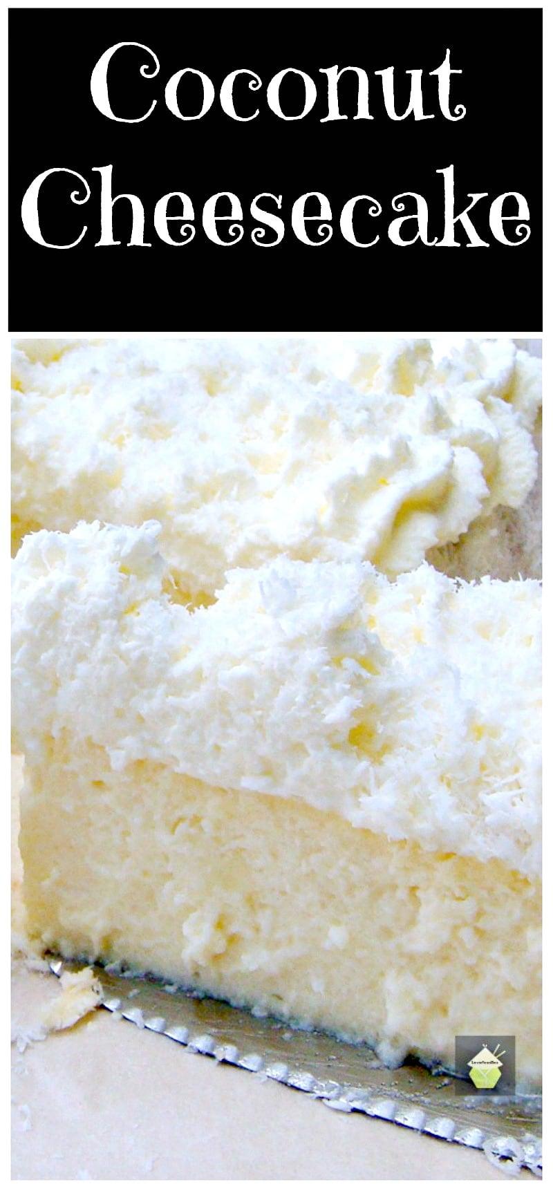 Coconut Ricotta Cheesecake PTL