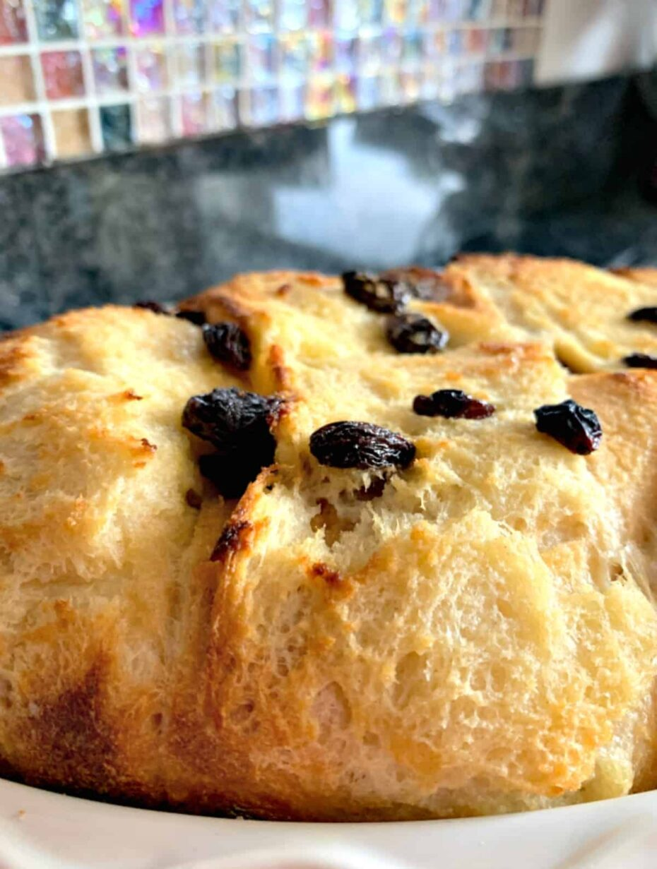 Light Fluffy Coconut Bread and Butter Pudding. Similar to French Toast only much fluffier. Great served warm from the oven just or with a blob of creamy coconut ice cream too!