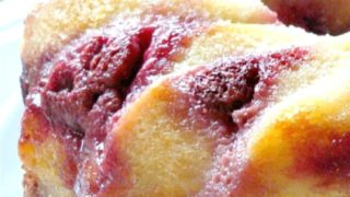 Fluffy Raspberry Ripple Bread and Butter Pudding