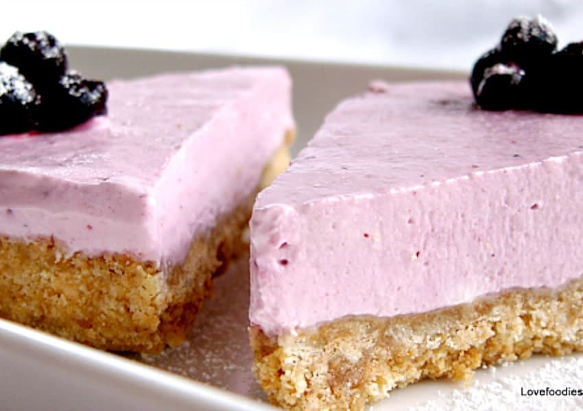 Fruits of The Forest Dessert. A wonderful no bake dessert and easy to make too! You can use fresh or frozen berries. You choose!