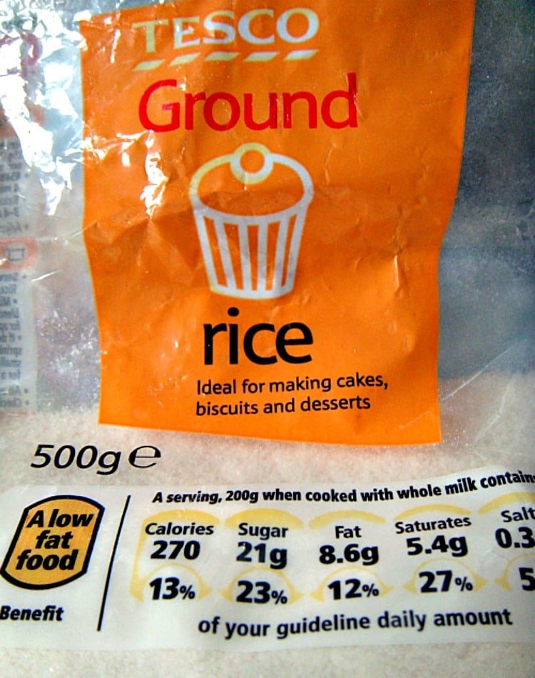 Ground Rice