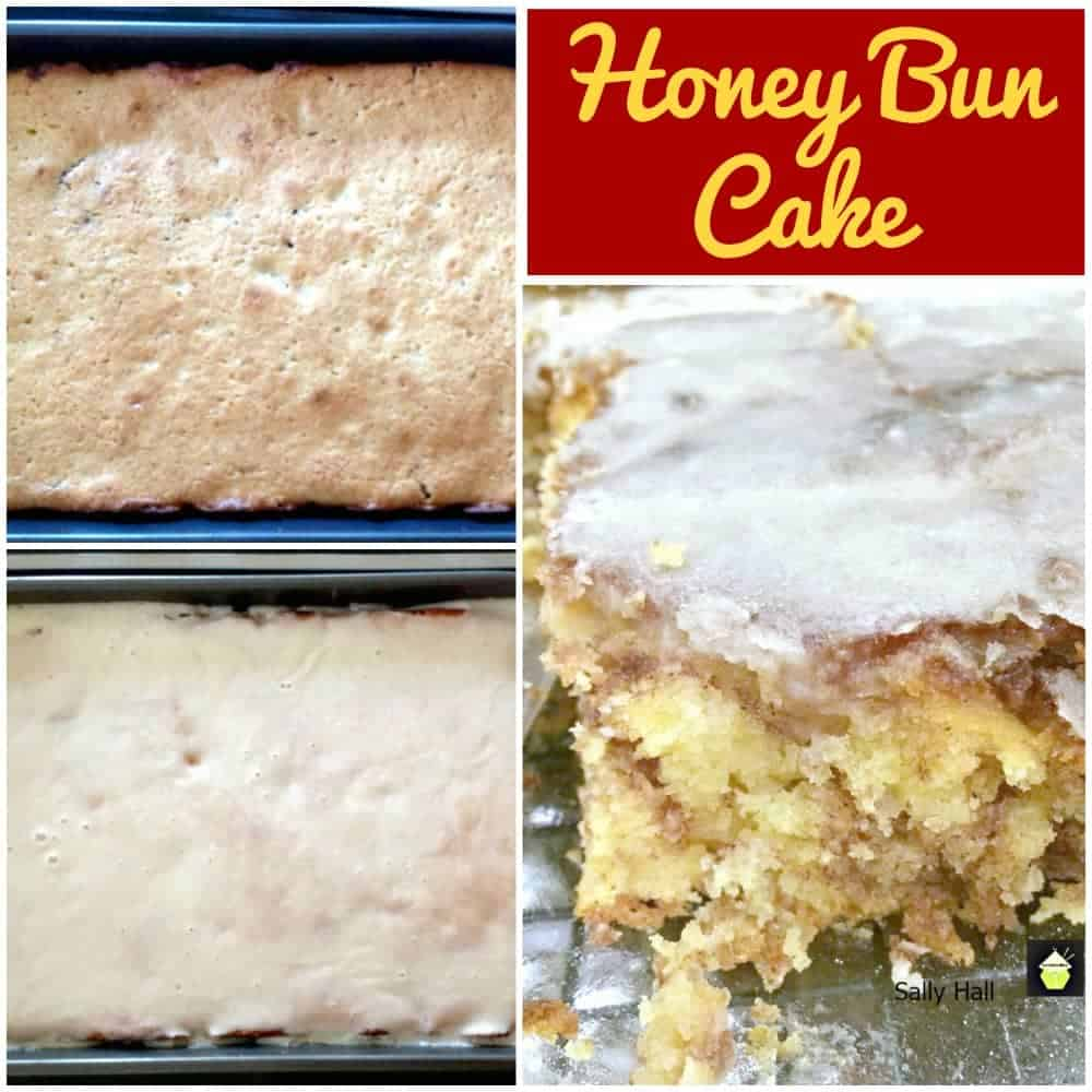 Honey Bun Cake! This is a delicious, moist cinnamon and brown sugar cake, easy to make and delicious!