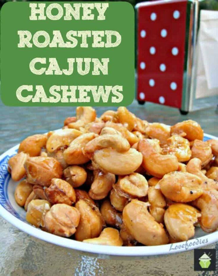 Honey Roasted Cajun Cashews