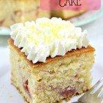 Lemon Drizzle Raspberry Ripple Cake