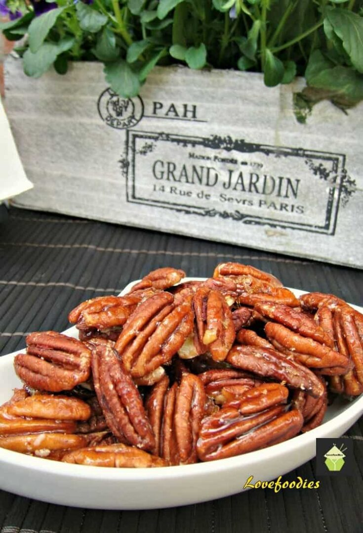 Maple Roasted Pecans 1