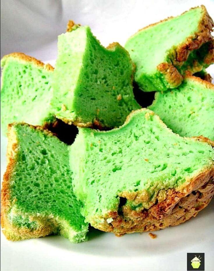 Pandan Chiffon Cake16