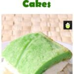 Pandan Pineapple Cream Tea Cakes