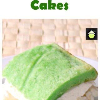 Pandan Pineapple Cream Tea Cakes