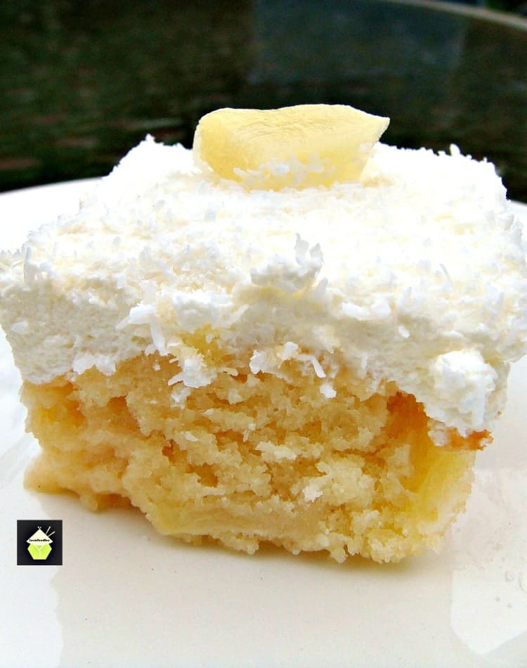 Pineapple Coconut Cake From Scratch