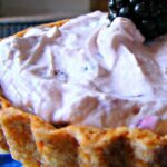Quick Creamy Blackberry Pie