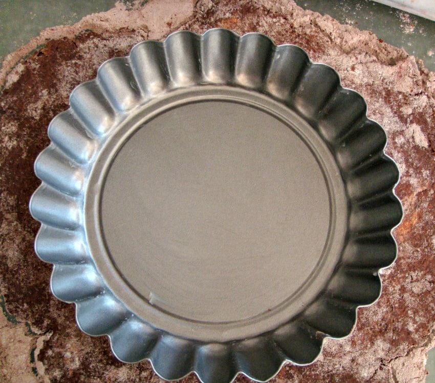 Irish Cream Pie, making the chocolate pastry