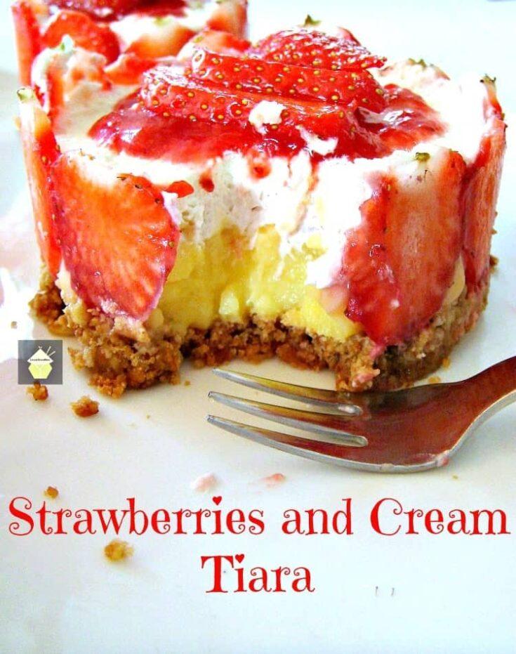 Strawberries and Cream Tiara