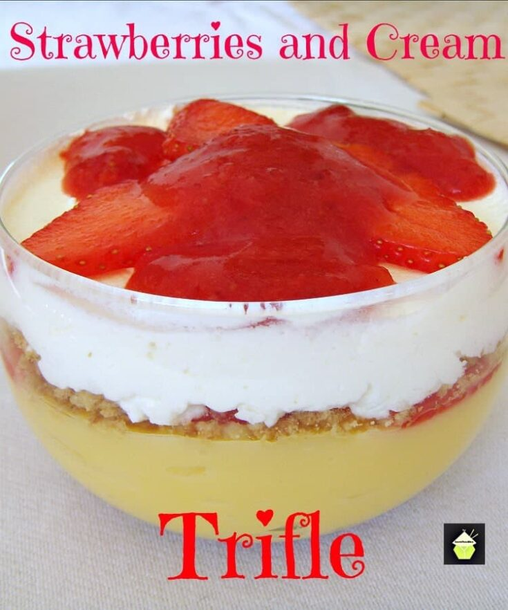 Strawberries and Cream Trifle 4