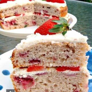 Strawberry Invasion Cake
