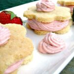 Strawberry Mousse Shortbread