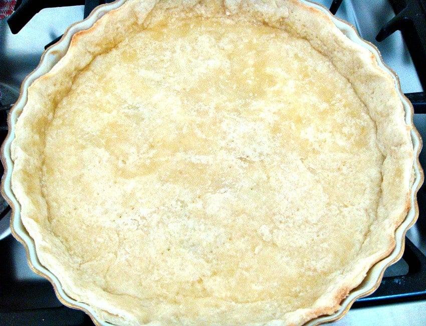 Bake Blind pastry case