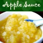 How To Make 3 Minute Apple Sauce