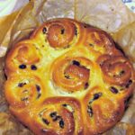 Almond, Raisin Cream Cheese Sticky Buns