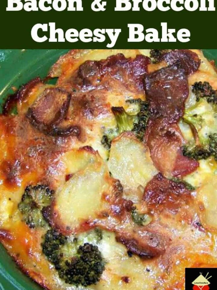 Bacon & Broccoli Cheesy Bake - Quick, easy and very delicious! | Lovefoodies.com