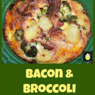 Bacon & Broccoli Cheesy Bake - Quick, easy and very delicious!