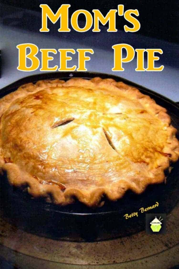 Mom's Beef and Potato Pie. A wonderful family recipe, simple ingredients and oh so delicious. Uses hash browns too!