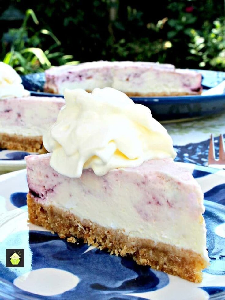 Blueberry and Lemon Cheesecake1