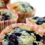 Blueberry and White Chocolate Muffins Great flavor combination and very easy recipe. Yummy! Perfect for breakfast and freezer friendly too!
