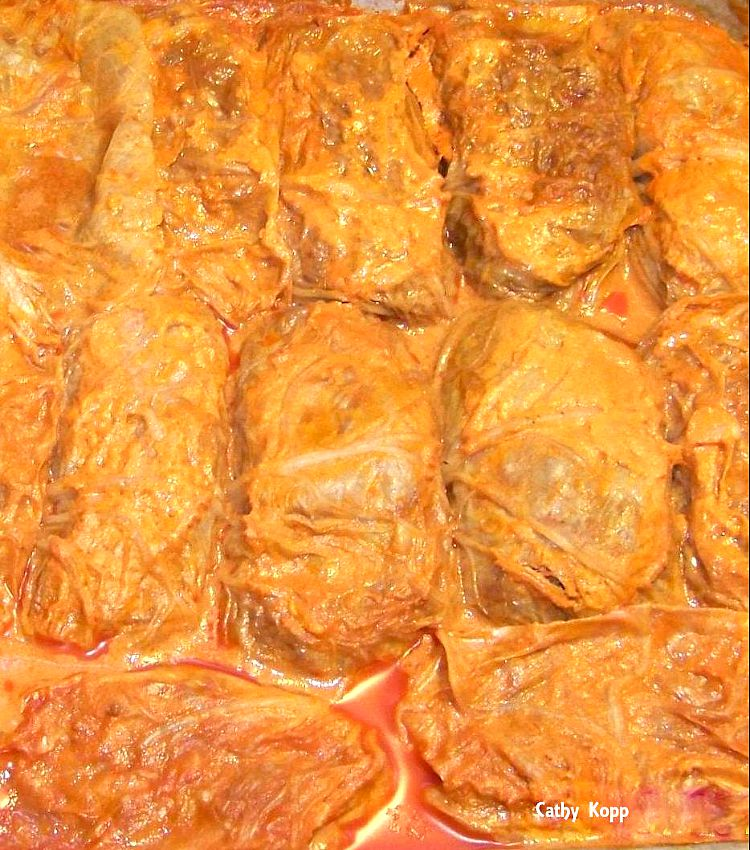 Cabbage Rolls, Golabki A great tasting meal!