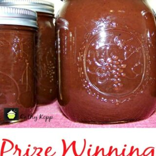 Prize Winning Slow Cooker Apple Butter