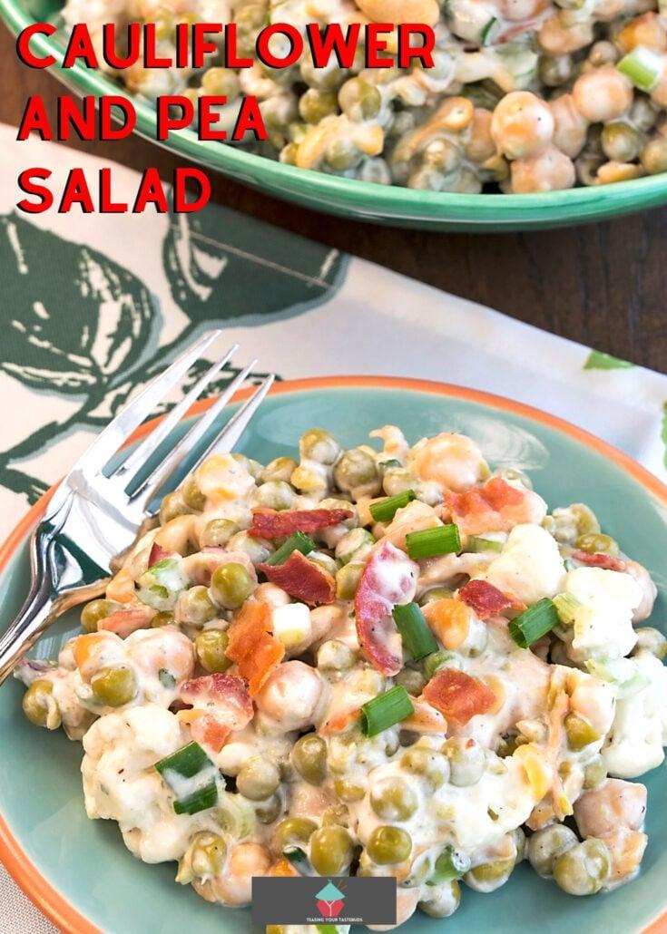 Cauliflower and Pea SaladH