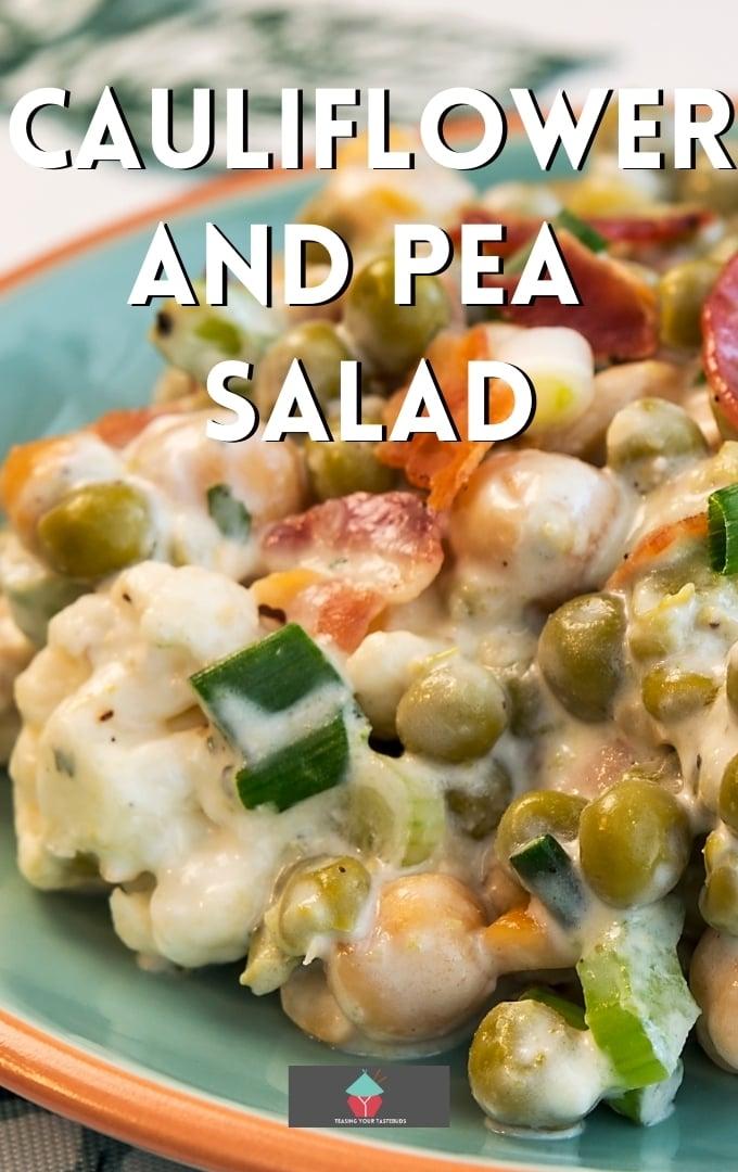 Cauliflower and Pea SaladP2