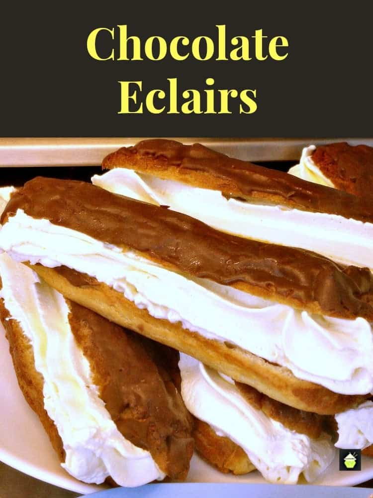 Chocolate Eclairs – Lovefoodies