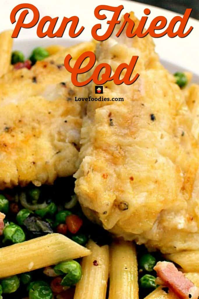 Pan Fried Fish is a very quick and easy recipe, with great flavour.