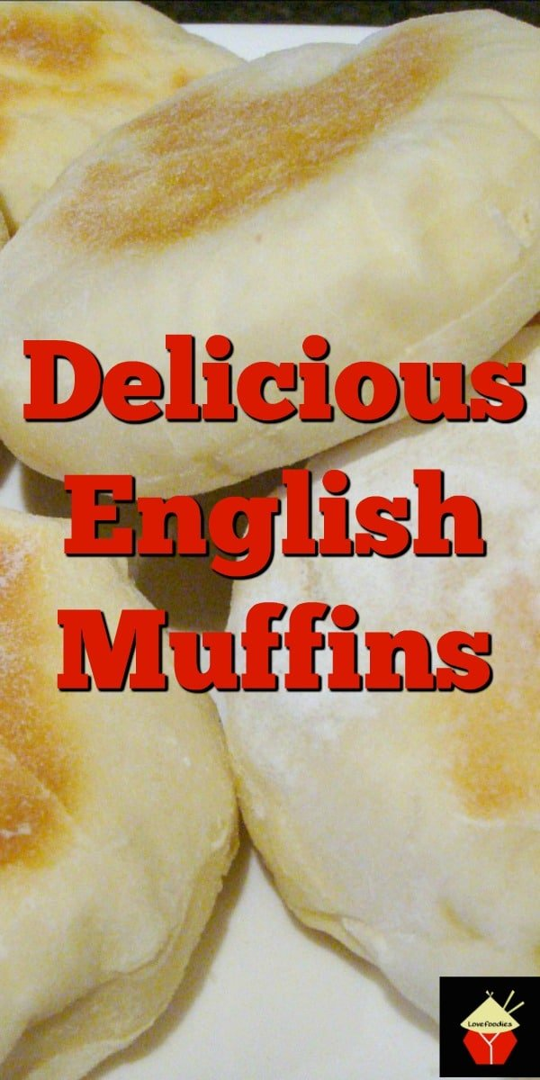 Delicious English Muffins. English bread recipe, often eaten for breakfast. Serve warm with butter! You can eat these sweet or savory! Freezer friendly too! Simple recipe