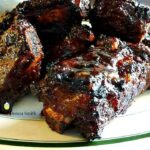 Oh these are good! Cola Ribs, always so popular with a crowd! Use beef or pork ribs, and grill or oven, you choose. A very nice and easy recipe with great flavors