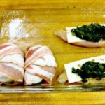Easy Chicken, Spinach & Cheese Roll Ups. Come and see what's inside these!