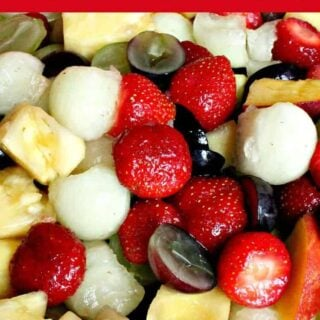 Easy Fresh Fruit Salad