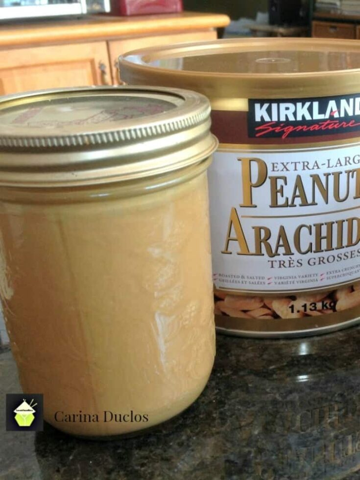 Easy Homemade Peanut Butter 1