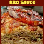 Easy Meatloaf with BBQ Sauce