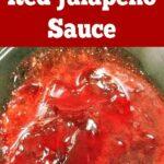 Easy Jalapeno Sauce