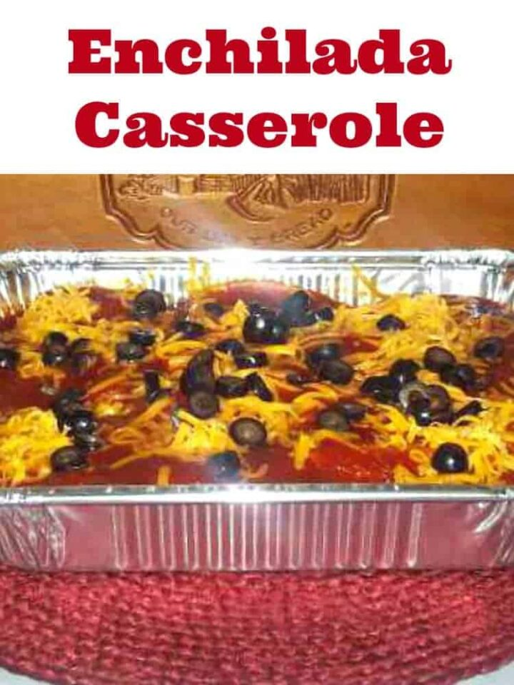 Enchilada Casserole - Very Easy recipe and full of goodies! Always a hit with the family.