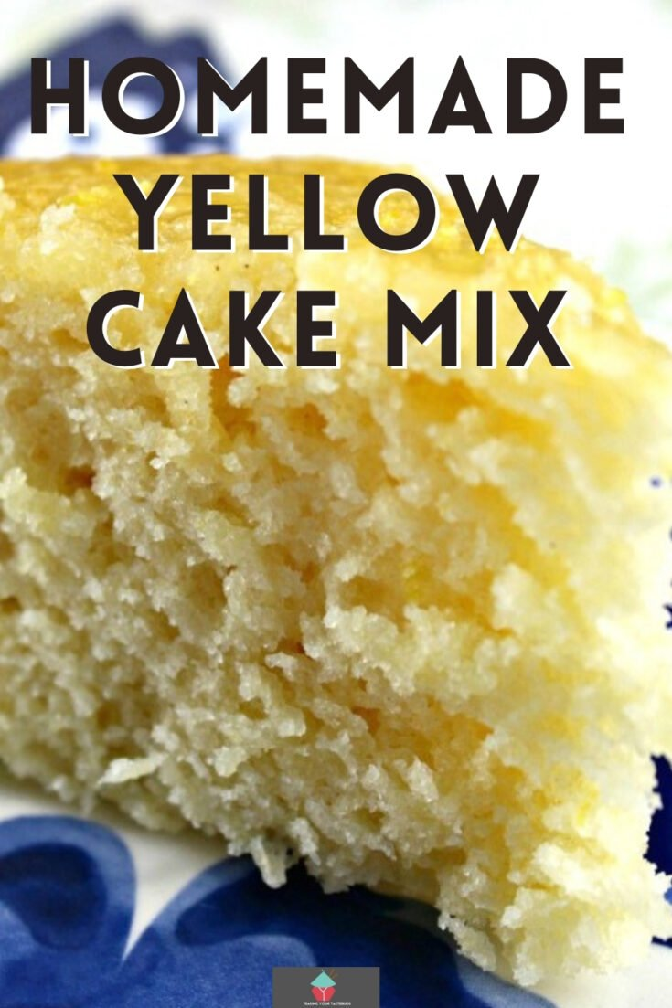 Homemade Yellow Cake MixP1